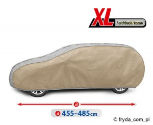 Plandeka Samochodowa OPTIMAL GARAGE XL Hatchback/Kombi