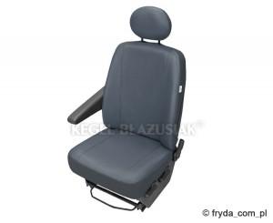 Pokrowiec na pojedynczy fotel PRACTICAL DV1 popielaty