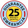 Pokrowce objęte 24 miesięczną gwarancją producenta