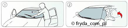 Osłony przeciwszronowe – instrukcja zakładania
